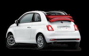 Hire a Fiat 500 Cabrio in Corfu